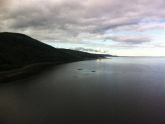 Stunning view after crossing Kessock Bridge