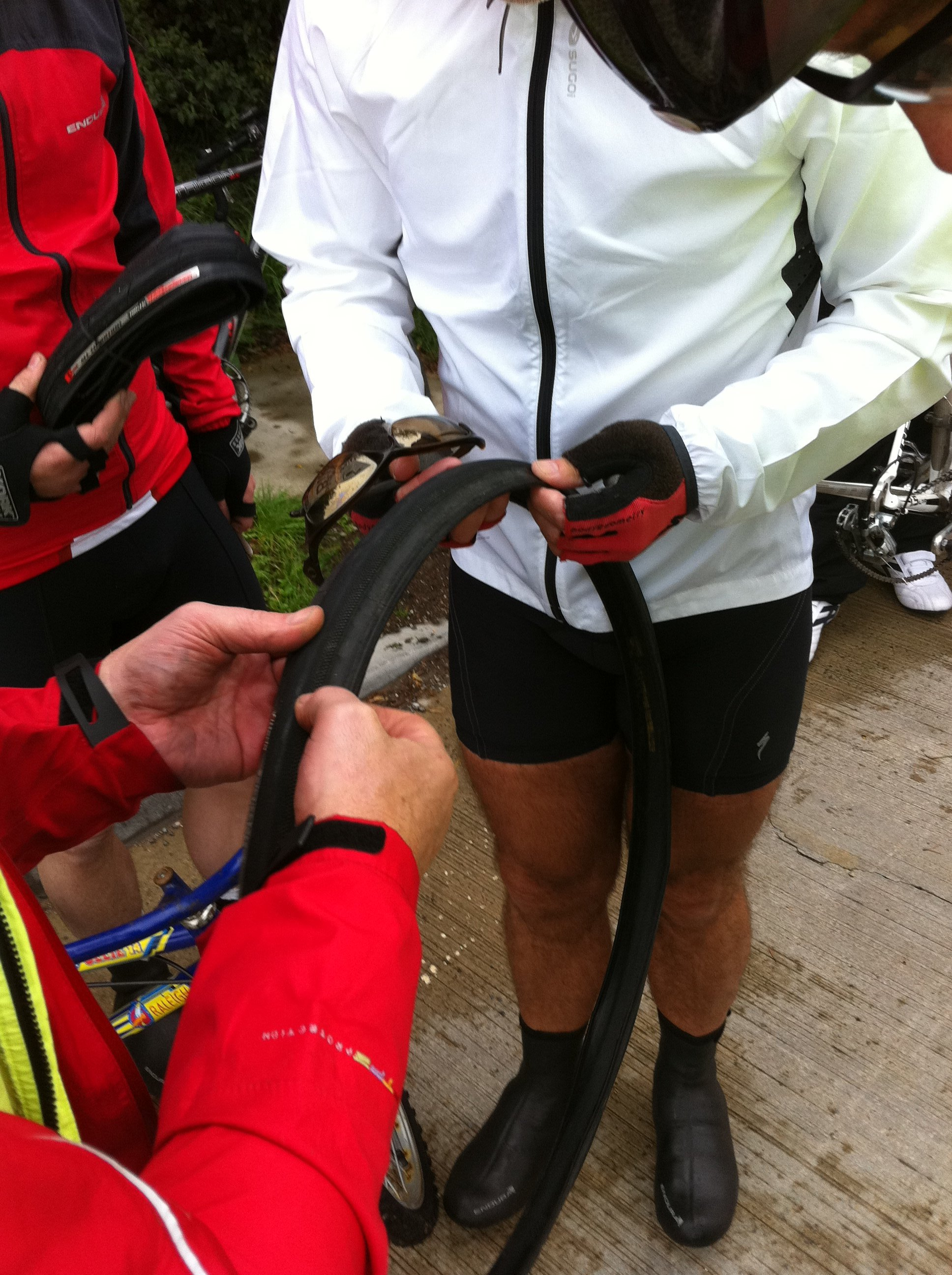 James and his punctures